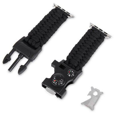 Pintaik Nylon Knit Watch Band