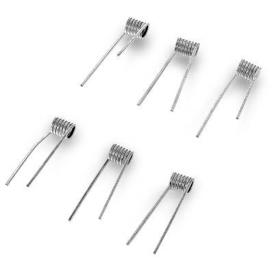 6pcs Demon Killer Flame Coil A 316L Coil 0.5 ohm