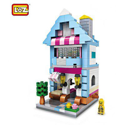 LOZ ABS Dessert Shop Building Block