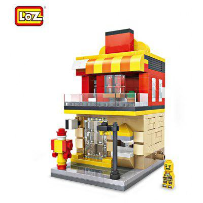 LOZ ABS Restaurant-Art-Baustein - 333pcs / set