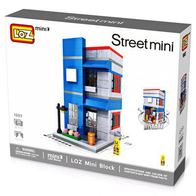 LOZ ABS Restaurant Style Building Block - 307pcs / setBlock Toys<br>LOZ ABS Restaurant Style Building Block - 307pcs / set<br><br>Gender: Unisex<br>Materials: ABS<br>Package Contents: 1 x Building Block Set, 1 x Operation Instruction<br>Package size: 20.00 x 5.00 x 16.00 cm / 7.87 x 1.97 x 6.3 inches<br>Package weight: 0.1700 kg<br>Product size: 5.40 x 6.20 x 9.60 cm / 2.13 x 2.44 x 3.78 inches<br>Product weight: 0.1400 kg<br>Suitable Age: Kid<br>Theme: Other<br>Type: Kids Building