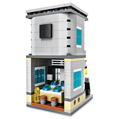 LOZ ABS Store Style Building Block - 301pcs / setBlock Toys<br>LOZ ABS Store Style Building Block - 301pcs / set<br><br>Brand: LOZ<br>Completeness: Semi-finished Product<br>Gender: Unisex<br>Materials: ABS<br>Package Contents: 1 x Building Block Set, 1 x Operation Instruction<br>Package size: 20.00 x 5.00 x 16.00 cm / 7.87 x 1.97 x 6.3 inches<br>Package weight: 0.1700 kg<br>Product size: 5.40 x 6.50 x 9.30 cm / 2.13 x 2.56 x 3.66 inches<br>Product weight: 0.1400 kg<br>Suitable Age: Kid<br>Theme: Buildings<br>Type: Kids Building