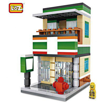 LOZ ABS House Style Building Block Educational Cartoon Movie Produit Kid Toy - 286pcs / set