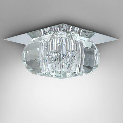 LightMyself 3W 250LM Crystal Corridor Ceiling Lamp