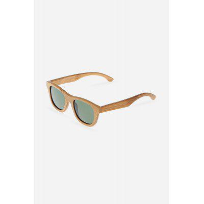 Unisex Bamboo Frame UV400 Goggle Polarized Sunglasses