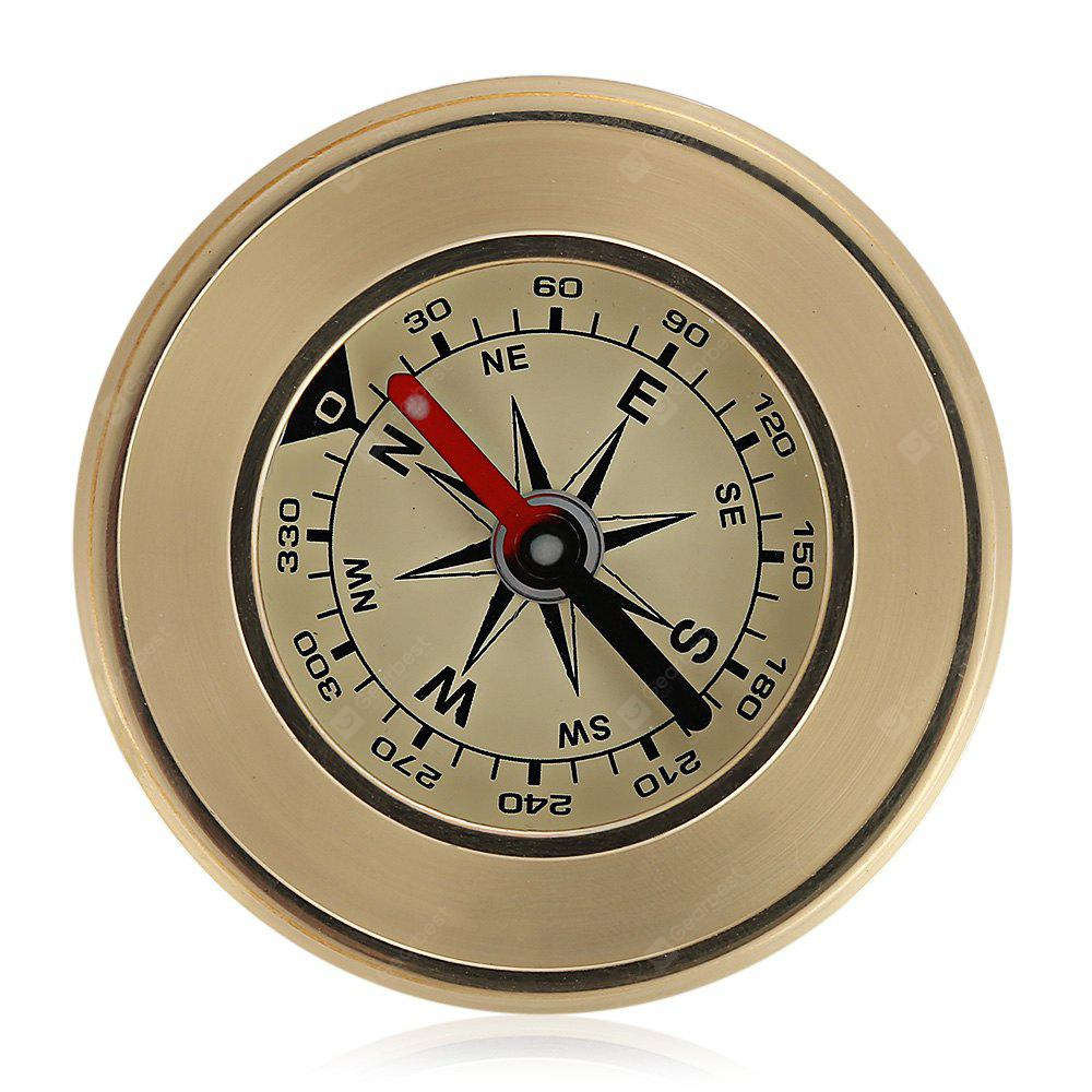 NatureHike Night Vision Copper Compass for Camping Hiking