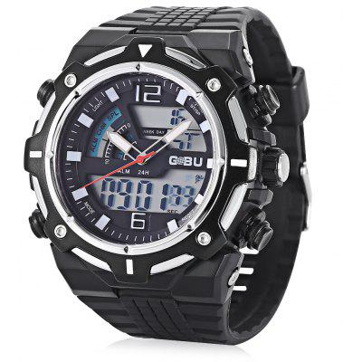GOBU 1533 Men LED Quartz Digital Sports Watch