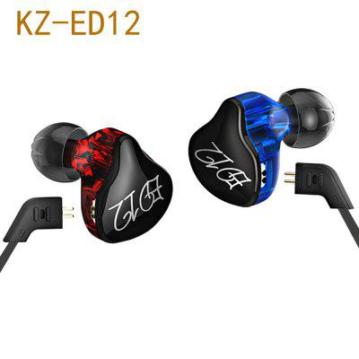 KZ ED12 HiFi Music In Ear Earphones with Mic