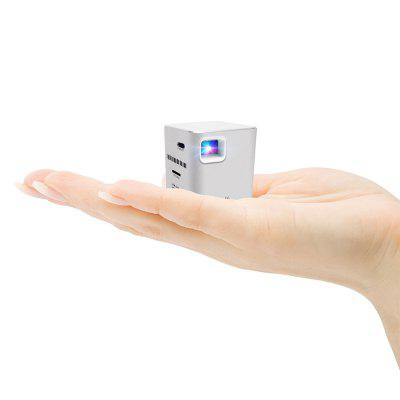 P6 Portable Smart  Mini DLP LED WiFi Projector