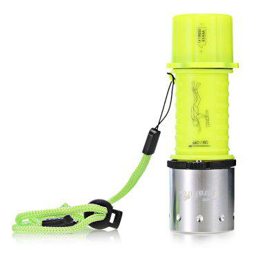 UltraFire 4 Mode Diving LED Flashlight with Bracket