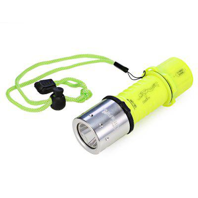 UltraFire 4 Mode Diving LED Flashlight with Charger