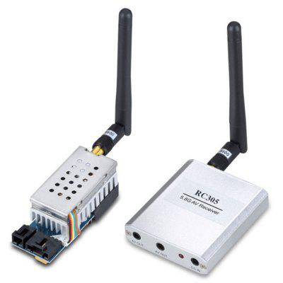 FPV 5.8GHz 500mw 8CH Wireless Audio Video Transmitter + Receiver ( TS352 + RC305 ) Combo