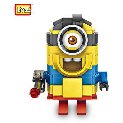 LOZ ABS Hero Style Cartoon Kid Toy