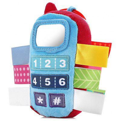 Baby Colorful Phone Style Hand Shake Bell