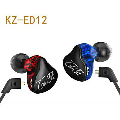 KZ ED12 HiFi Musik In Ear Earphones mit Mic