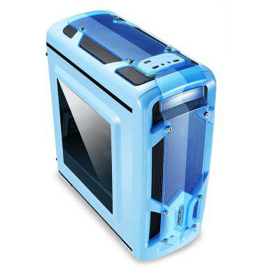 Segotep PC Case Desktop BoxComputer Cases<br>Segotep PC Case Desktop Box<br><br>Brand Name: Segotep<br>Fan Number: No<br>HDD Slot Number: 4<br>Motherboard Compatibility: ITX, M-ATX<br>Package size: 49.50 x 23.60 x 46.30 cm / 19.49 x 9.29 x 18.23 inches<br>Package weight: 4.6700 kg<br>Packing List: 1 x Segotep Mini Computer Case<br>Product size: 41.00 x 20.00 x 45.00 cm / 16.14 x 7.87 x 17.72 inches<br>Product weight: 3.5100 kg