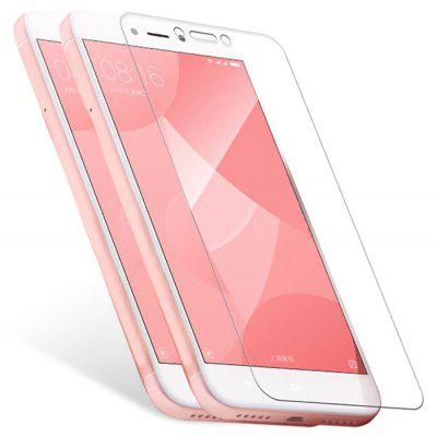 2pcs Luanke Tempered Glass 9H Screen Protective Film for Xiaomi Redmi 4X