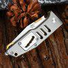 Sanrenmu 7046 LTX-LKR-T3 Foldable Knife with Line Locking Glass Hammer 10mm / 8mm / 6mm / 4mm Wrench - GRAY