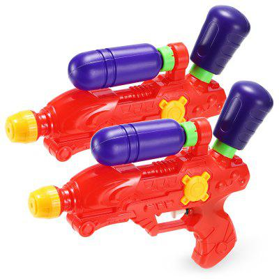 Plastic Water Gun Air Pressure System Toy - 2pcs / set