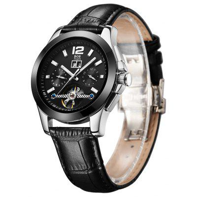 BOS 9001G Male Automatic Mechanical Watch