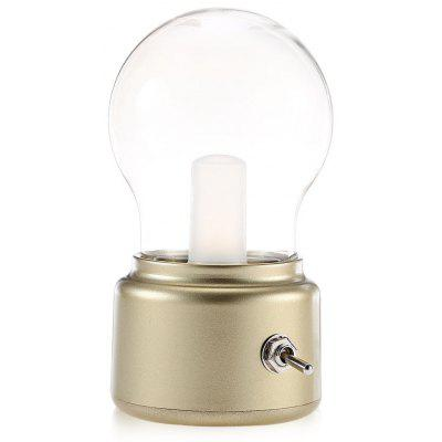 Retro Bulb-shaped LED Night Light