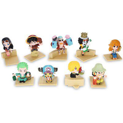 Modèle de Figurine d'Animation en PVC Collectible - 9pcs / set
