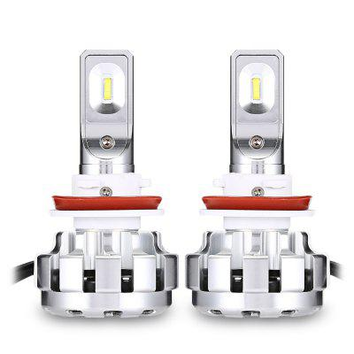 V1 H11 12800LM 6000K 70W Car LED Headlight Bulb - 2PCS