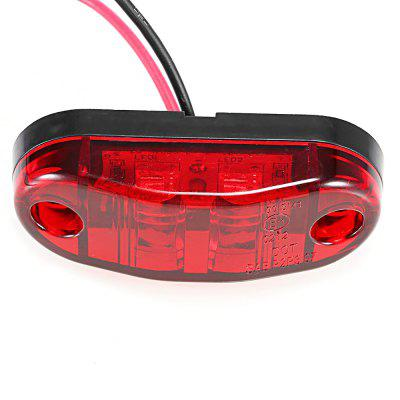 0.5W DC 9 - 30V 2 LED Truck Side Marker Light