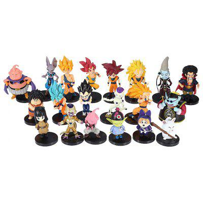 Modèle de Figurine d'Animation Collectible - 20pcs / Ensemble