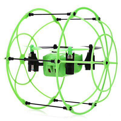 Vente flash-Helic Max Sky Walker 1336 4 Channel 2.4G RC Quadcopter  - GREEN