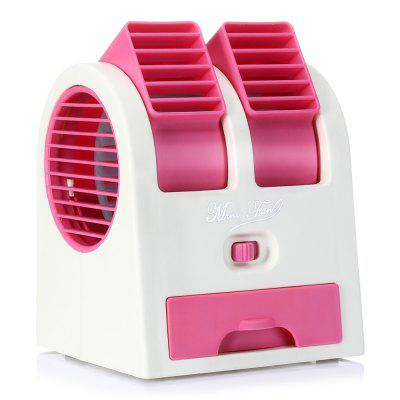 HB - 168 Mini USB Double-tuyere Fan