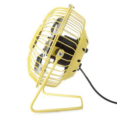 Retro Super Silent USB FanOther Home Improvement<br>Retro Super Silent USB Fan<br><br>Features: Portable, Space-saving<br>Package Contents: 1 x Fan<br>Package size (L x W x H): 16.00 x 10.20 x 17.00 cm / 6.3 x 4.02 x 6.69 inches<br>Package weight: 0.3180 kg<br>Product size (L x W x H): 5.80 x 11.70 x 15.00 cm / 2.28 x 4.61 x 5.91 inches<br>Product weight: 0.2410 kg<br>Type: Mini Fans<br>Wattage: 2.5W