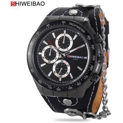 Buy SHI WEI BAO J1112 Men Quartz Watch, BLACK, Watches & Jewelry, Men's Watches for $6.56 in GearBest store