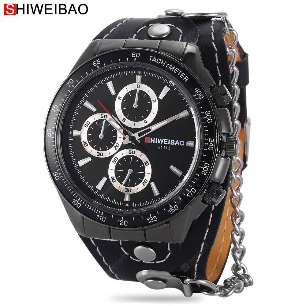 SHI WEI BAO J1112 Men Quartz Watch
