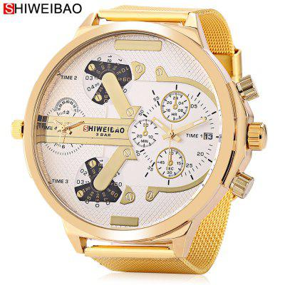 SHI WEI BAO A6132 Men Quartz Watch