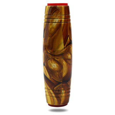 Golden Amber Painting Wooden Fidget Roller