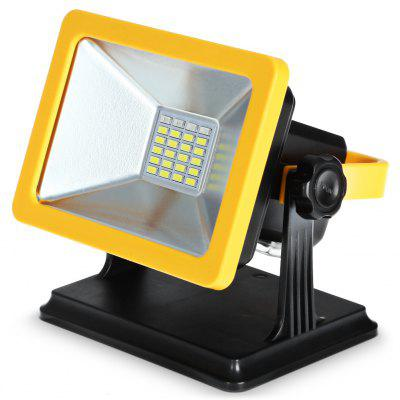 Portable White + Blue + Red Light LED Floodlight
