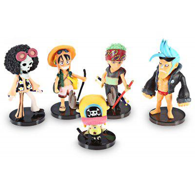 Modèle de Figurine d'Animation Collectible - 5pcs / set