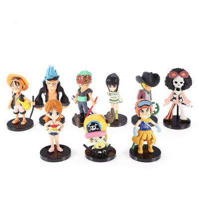 Modèle de Figurine d'Animation - 9pcs / set