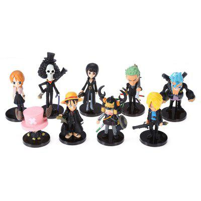 Modèle de Figurine d'Animation Collectible 9pcs / set