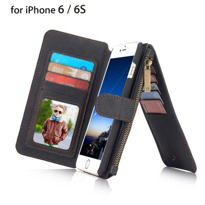 2 in 1 PU Leather Pocket Protective Case for iPhone 6 / 6S
