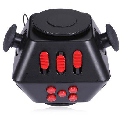 Buy Multifunctional Magic Fidget Spinner Cube 2 in 1 Combined Gyro, BLACK RED, Toys & Hobbies, Stress & Fidget Toys, Fidget Spinners for $10.39 in GearBest store