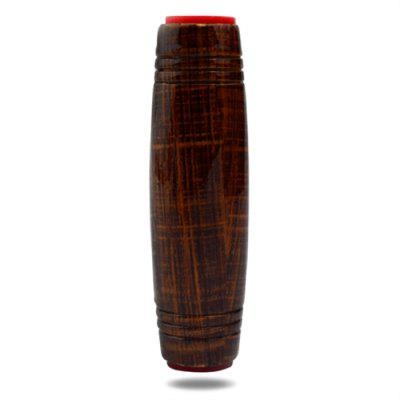 Wood Grain Painting Wooden ADHD Fidget Roller