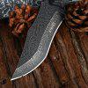 3Cr13Mov Stainless Steel Blade Fixed Blade Knife - BLACK