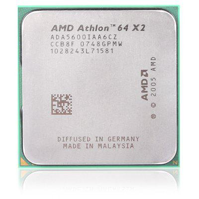 Buy SILVER AMD Athlon 64 X2 5600 Dual-core 2.0GHz CPU for $8.42 in GearBest store