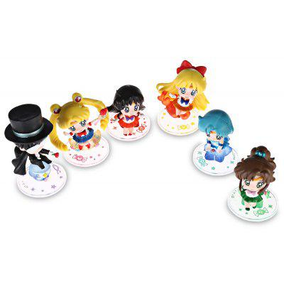 Modèle de Figurine d'Animation Collectible - 6pcs / set