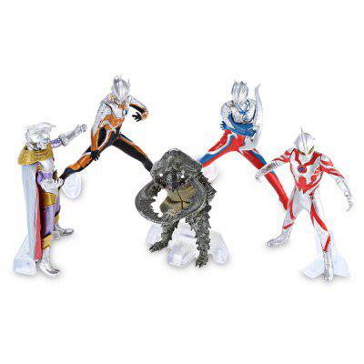 5pcs / set Collectible PVC Animation Figurine Model