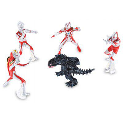 PVC Collectible Animation Figurine Model - 5pcs / set