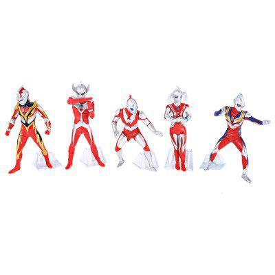 Animation PVC Figurine Model - 5pcs / set