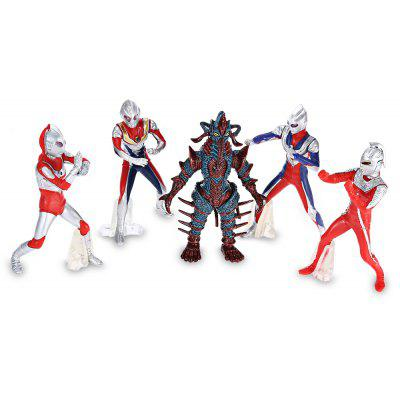 5pcs / set Collectible Animation Figurine Model